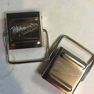 Milwaukee Fuel hard case Original metal clips (2)for 2797-22 2897-22 and others