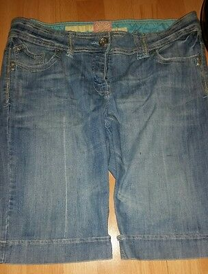 Ladies Denim Shorts Size 14
