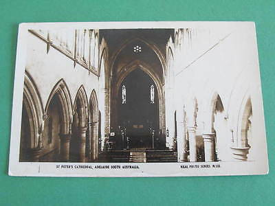 St. Peters Cathedral Adelaide South Australia Valentine Series Postcard