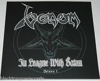 Venom In League With Satan Vol 1 LP DBL Deluxe * RED * Vinyl NEW