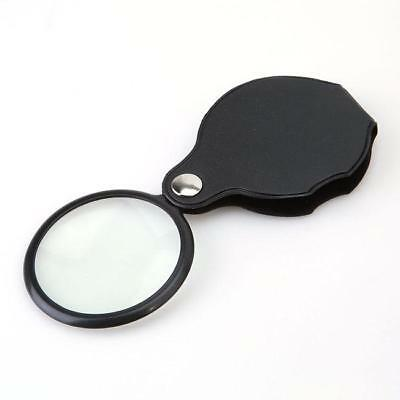 New Folding 10X Mini Pocket Jewelry Magnifier Magnifying Eye Glass Loupe Lens