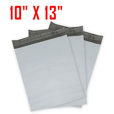 25 #4 Poly Mailer Plastic Shipping Mailing Bags Envelope Polybag 2.35mm 10x13