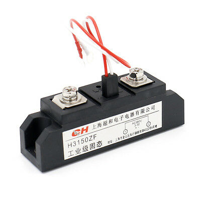 Solid State Relay H3150ZF 3-32VDC 380VAC 150A DC to AC with LED Indicator lamp