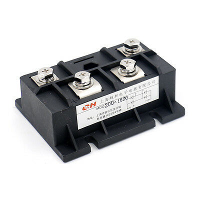 Bridge Rectifier MDQ-200A 200A 1600V Full Wave Diode Module Single Phase