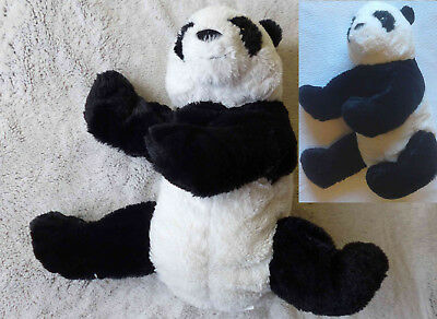 peluche panda ikea kramig giocattolo morbido bianco nero 30cm eur 6 99 picclick it. Black Bedroom Furniture Sets. Home Design Ideas
