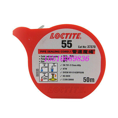 NEW Loctite L55 Pipe Sealing Cord,Length 50m #C01F