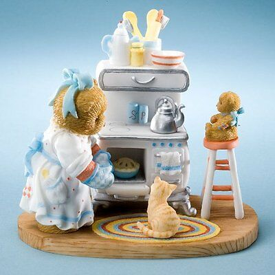 Cherished Teddies Lots of Lovin' In The Oven Dorothea & Missy