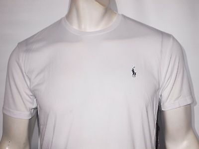 Polo Ralph Lauren men's performance jersey T-Shirt size medium white new ON SALE
