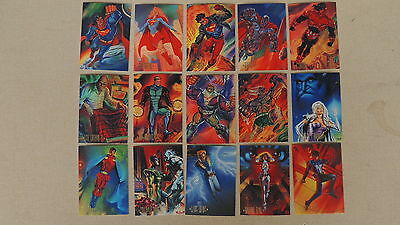 Dc Master Series Card Set Batman Superman Flash Great Art See Pics All Are Shown
