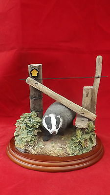 Border Fine Arts 'the Rambler' (Badger) Country Characters
