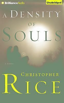 A DENSITY OF SOULS unabridged audio book on CD by CHRISTOPHER RICE
