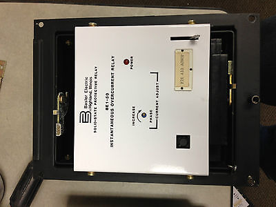BE1-50 Basler Electric Instantaneous Overcurrent Relay