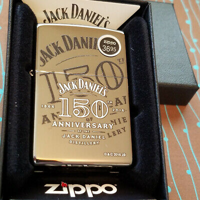 Zippo 29188 Jack Daniels 150th Anniversary NEW Windproof Lighter Free Shipping