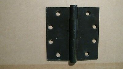 "Heavy Door Hinges 4.5"" x 4.5"" Vintage"