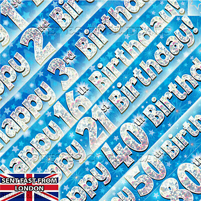 Flag Banner Boys Party Decor Blue and Green Fabric Bunting Boys Backdrop Kids Decor 8/'8 Wall Decor Blue and Green Banner 2.7m