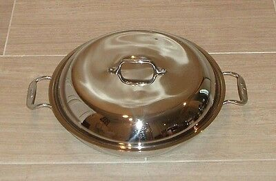 All Clad Allclad Copper Core Stainless Steel 4 QT Braiser w/ Lid - Display Unit