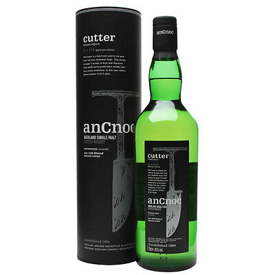 AnCnoc Cutter Limited Edition Single Malt Scotch Whisky 700mL