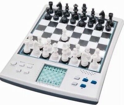 14 IN 1 TALKING ELECTRONIC VOICE CHESS SET COMPUTER MAGNETIC BOARD Brisbane