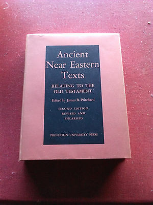 Ancient Near Eastern Texts Relating to the Old Testament by James Bennett...