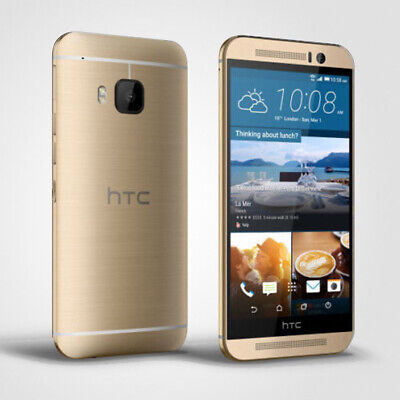 Unlocked HTC One M9 4G LTE - 20.0 MP 32GB Mobile Phone - Gold