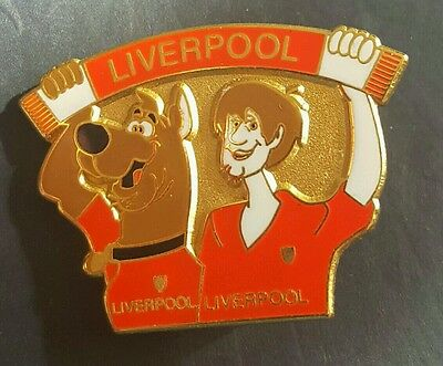 Liverpool Shaggy Man with Dog Badge