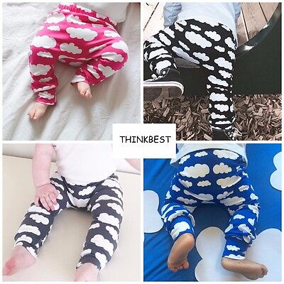 Baby PP Pants Toddler Boys Girls Print Tights Warm Leggings Trousers Size 00 -3