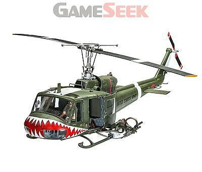 """Bell UH-1 """"Huey"""" 1:24 Scale Model Kit"""