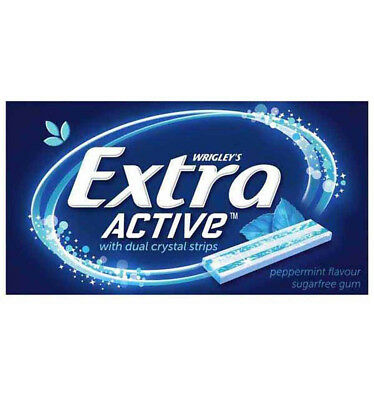 Wrigley Extra Active Peppermint x 24