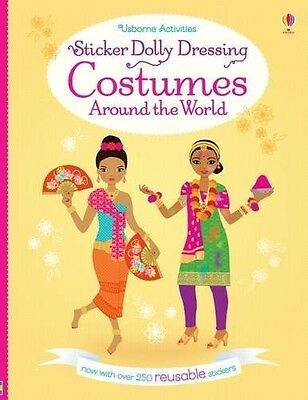 Sticker Dolly Dressing Costumes Around the World - 250+ Reusable Stickers