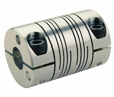 RULAND Coupling, 6 Beam Clamp, 8mmx7mm, Stainless #FCMR25-8-7-SS !80D!