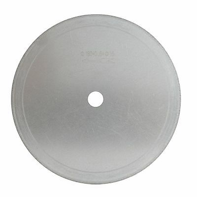 "7"" inch Arbor 5/8"" Ultra-thin Diamond Saw Blade Lapidar Cutting Disc 0.026"" Rim"
