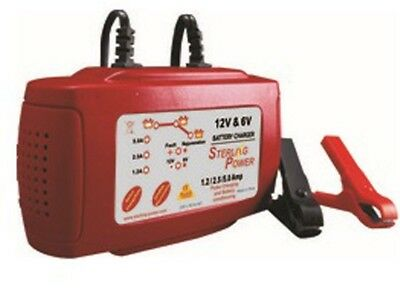 Sterling B125 5 Amp 6 and 12V Automatic Battery Charger Sterling Power