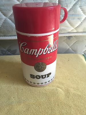 1998 Campbell Soup Thermos Soup Can-Tainers Retro Insulated Grab & Go