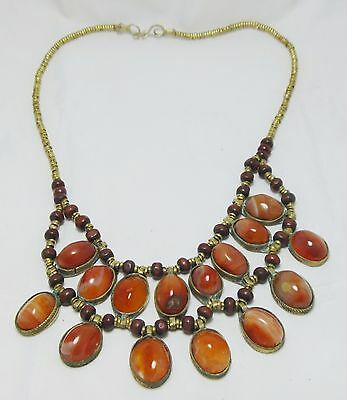 afghan tribal Traditional Jewelry necklace pendant haqeeq