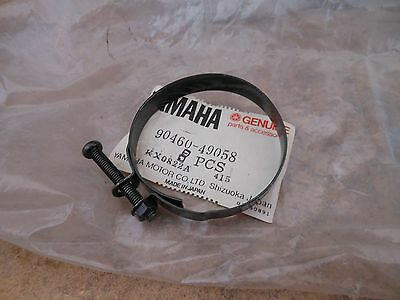 Yamaha TZ350, RD400, DT250, many others air intake hose clamp