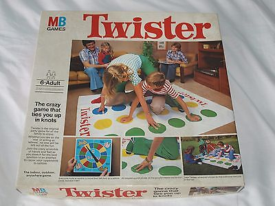 VINTAGE / RETRO, 1970s, TWISTER BY MB GAMES, FREEPOST.