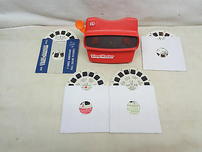1950's View-Master with four View-Master Reels