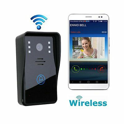 Wireless Wifi Remote Door Bell Remote Video Camera Home Phone Control Security