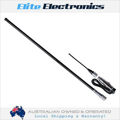 ORICOM ANU1000 6.5dBi UHF CB RADIO TOWN & COUNTRY ANTENNA 1.4M FOR TRUCK 4X4 4WD