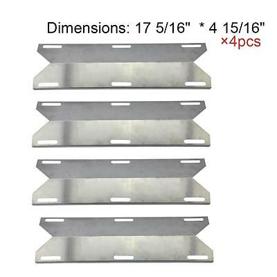 Stainless Heat Plate NGCHP3 MBP 93041 Replacement for Charmglow Gas Grill 4 Pack