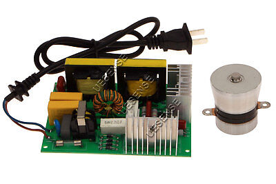 60W 40KHz Ultrasonic Cleaning Transducer Cleaner + Power Driver Board 110V AC