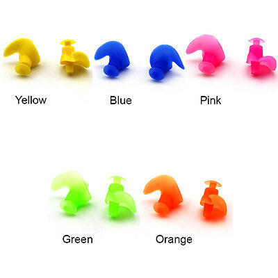 Scientific Design Silicone Swimming Diving Waterproof Earplugs For Audlts & Kids