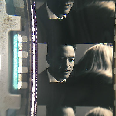 35mm movie film trailer GOODNIGHT AND GOOD LUCK George Clooney Robert Downey B&W