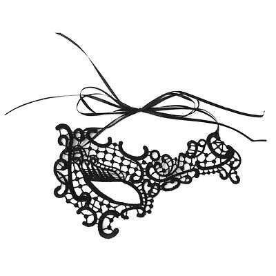 Women One eye Lace Mask Masquerade Ball Costume Party SP