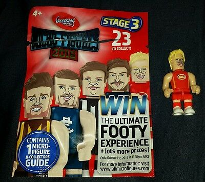 Coles 2016 AFL Micro Figures TOM LYNCH GOLD COAST SUNS #19 Stage 3