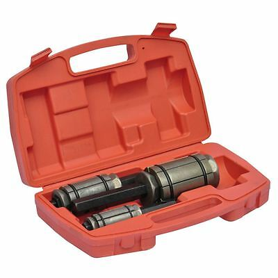 "3-Piece Tail Pipe Expander Set 1 1/8"" to 3 1/2"" Exhaust Muffler Tool Kit w/ Case"