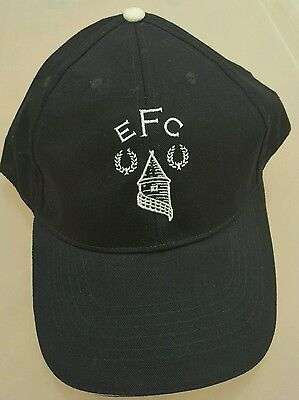 Official Everton Adults Navy and White Tower Baseball Cap  - Great Gift Idea