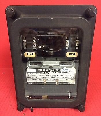 General Electric Model 12IAC77B806A Time Overcurrent Relay Inverse Time: 2.0/15A