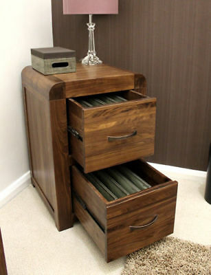baumhaus shiro walnut two drawer filing cabinet baumhaus hidden home office 2