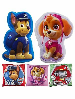 Paw Patrol Square Shaped Cushion Plush Stuffed Pillow Skye Chase Marshall Kids